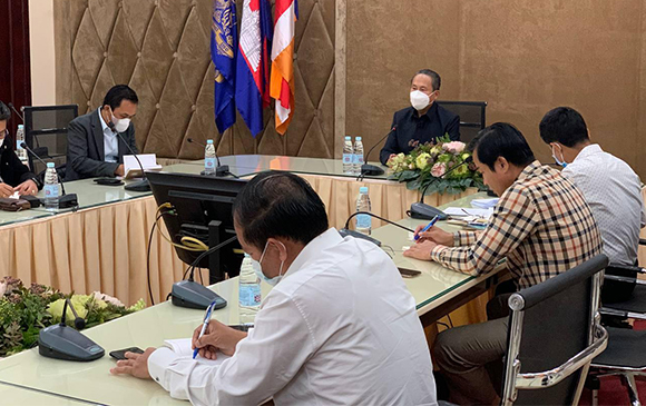 Meeting On Providing Data And Scope Of Project Implementation (February 09, 2021)