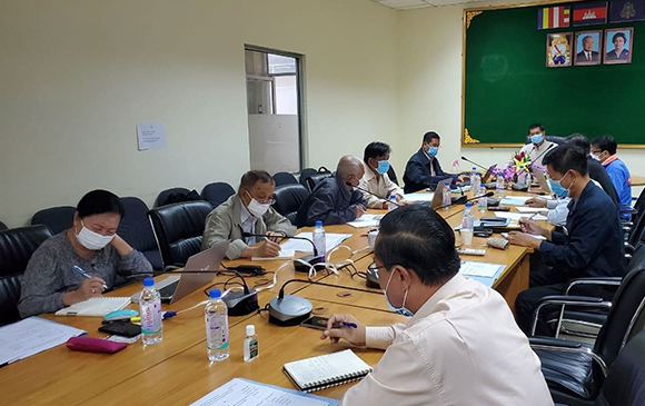 Meeting To Discuss The Preparation Of The National Indicative Plan For 2021-2025 (January 14, 2021)