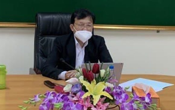 National Meeting to Review and Fill the Questionnaire on the Establishment of the Mekong Navigation Data and Information (September 06, 2021)